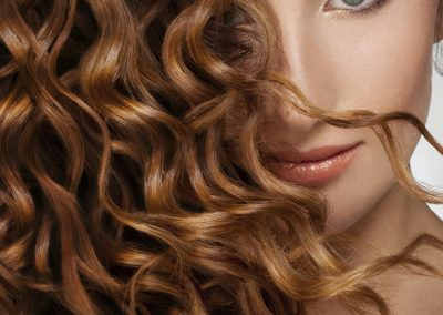 chroma-hair-studio-female-model-with-curly-hair -Chroma Hair Studio Highgate Hill 07 3217 2725 and James St Fortitiude Valley 073161 0712